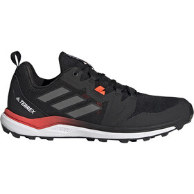 adidas TERREX Agravic Trail Running Shoes Men, core black/grey four/solar red